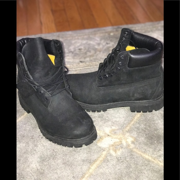 Mens Black Suede Timberland Boots